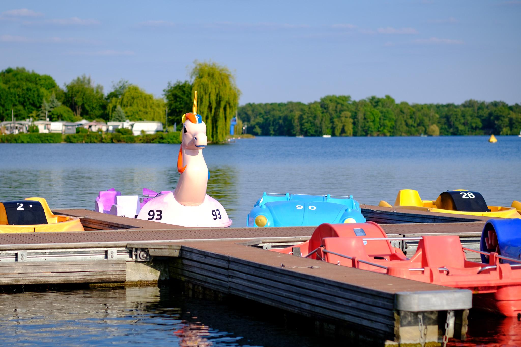 Tretboote & Ruderboote - Unterbacher See Düsseldorf