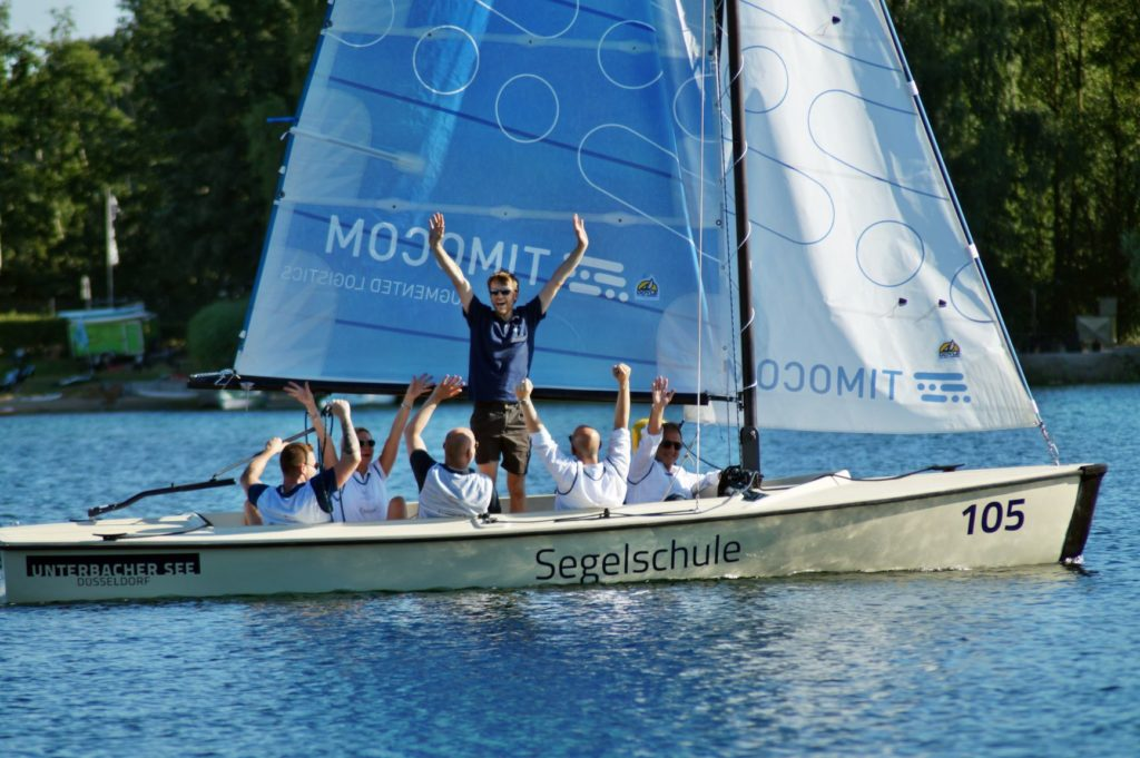Firmenevent mit Regatta