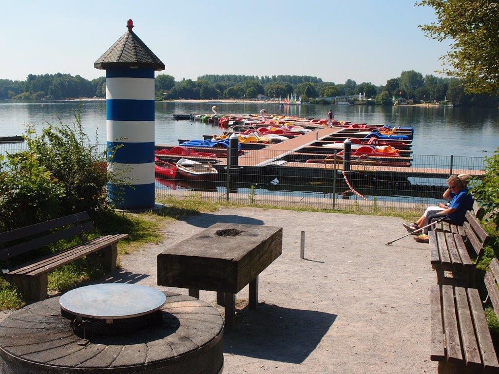 Grillplatz-Hafen
