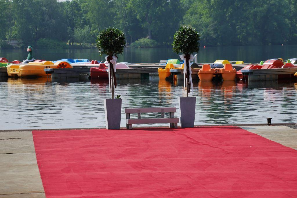 Hochzeit - Roter Teppich