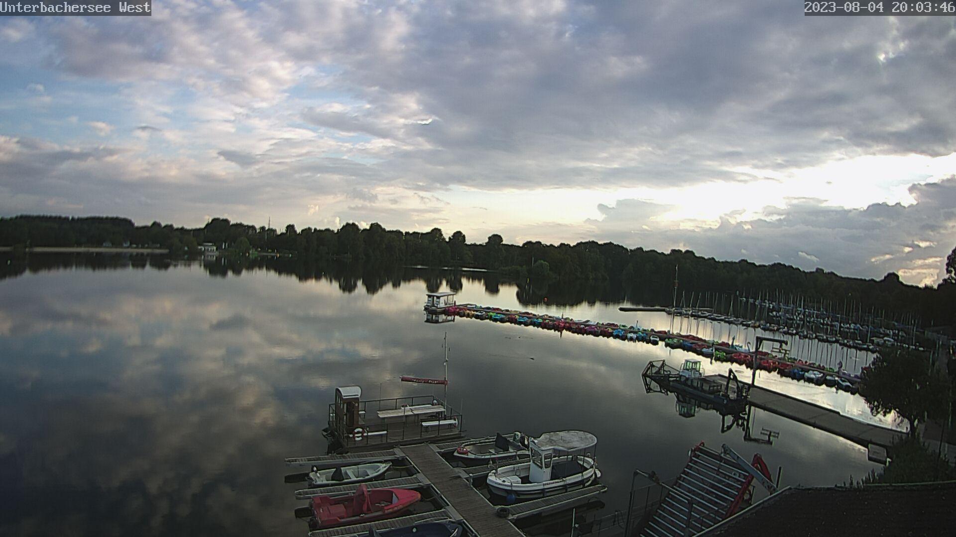 Unterbacher See Hafen